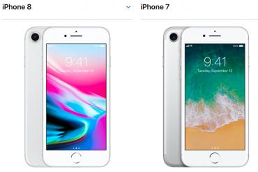 iPhone 8よりも7の方が売れている