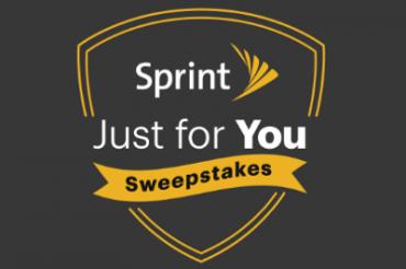 Sprintが「あなただけに」とくじ引きを実施