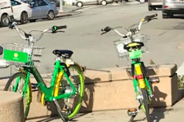 画期的な自転車シェアリング