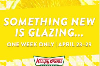 ドーナツが黄色になる