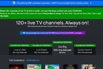 DirecTV NowにクラウドDVR機能追加