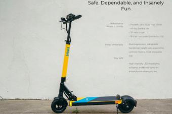SFの電動スクーターは2社に限定