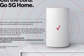 Verizonが「世界初の5G」を開始