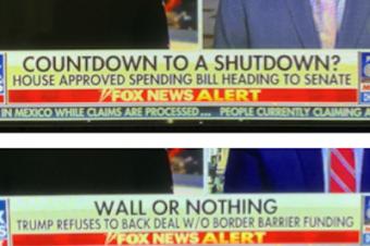 政府閉鎖の言葉遊び