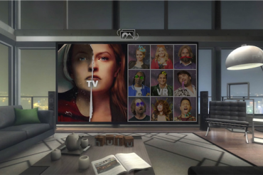 VRでHuluを観てみた