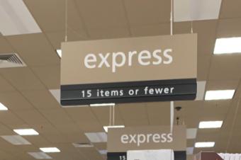 スーパーのレジで予期せぬ出来事