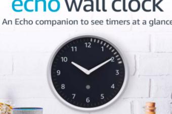 Amazonの掛時計が出た