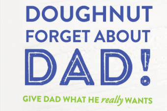 父の日にもドーナツが活躍
