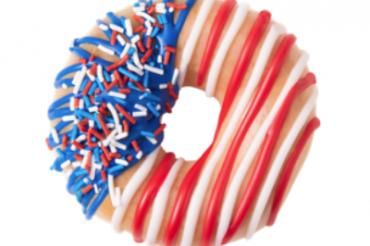独立記念日ドーナツがやってきた