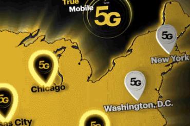 Sprintがシカゴで5Gを開始