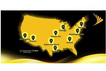 Sprintが5Gサービスで4都市追加