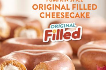 Krispy Kremeが秋の新企画