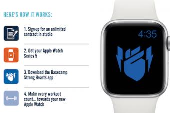 Apple Watchがフィットネスジムと提携