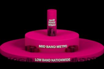 T-Mobileがミッドバンド5Gを開始