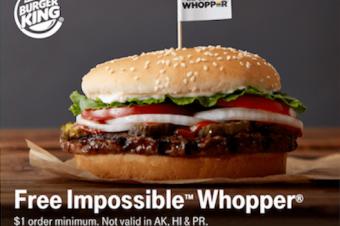 T-Mobileが「不可能なハンバーガー」をくれる