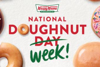 ドーナツの日が週になった