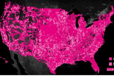 T-Mobileの5Gが50州をカバー