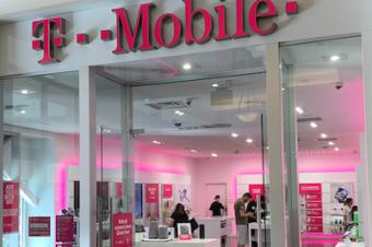 T-Mobileがショップ数で首位