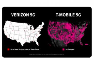 T-Mobileの5G広告に中止勧告