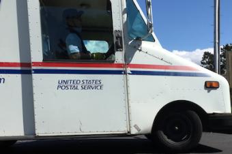 アメリカの郵便が遅れているというが