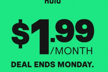 Huluが寛大なプロモーション